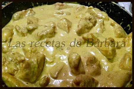 pollo al curry 1