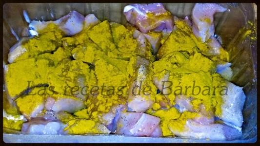 pollo al curry 8